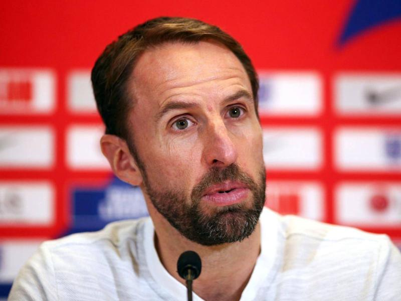 Gareth Southgate believes his side are greatly improved since the World Cup (PA)