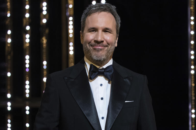 Jury member Denis Villeneuve appears on stage at the opening ceremony of the 71st international film festival, Cannes, southern France, Tuesday, May 8, 2018. (Photo by Vianney Le Caer/Invision/AP)