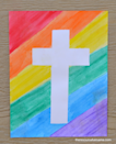 """<p>You just need watercolors and tape to create this vibrant cross craft that your kids will want to hang up right away.</p><p><strong>Get the tutorial at <a href=""""https://www.theresourcefulmama.com/tape-resist-easter-cross-craft/"""" rel=""""nofollow noopener"""" target=""""_blank"""" data-ylk=""""slk:The Resourceful Mama"""" class=""""link rapid-noclick-resp"""">The Resourceful Mama</a>.</strong></p><p><strong><a class=""""link rapid-noclick-resp"""" href=""""https://www.amazon.com/Artists-Loft-Fundamentals-Watercolor-Colors/dp/B013S1A4Q2/?tag=syn-yahoo-20&ascsubtag=%5Bartid%7C10050.g.30928377%5Bsrc%7Cyahoo-us"""" rel=""""nofollow noopener"""" target=""""_blank"""" data-ylk=""""slk:SHOP WATERCOLORS"""">SHOP WATERCOLORS</a><br></strong></p>"""