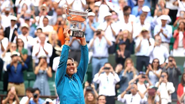Rafeal Nadal secured his 11th French Open title over the weekend, bringing his match record to an amazing 86-2. With such dominance on the clay court, where does Nadal's French Open dominance rank among other individual sports?