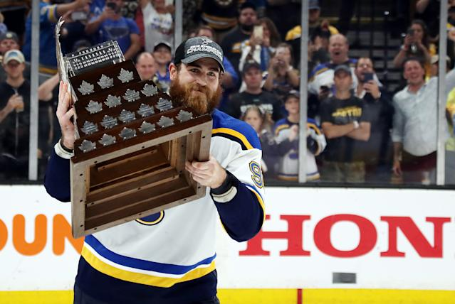 Ryan O'Reilly was a beast in the Stanley Cup Final. (Photo by Bruce Bennett/Getty Images)