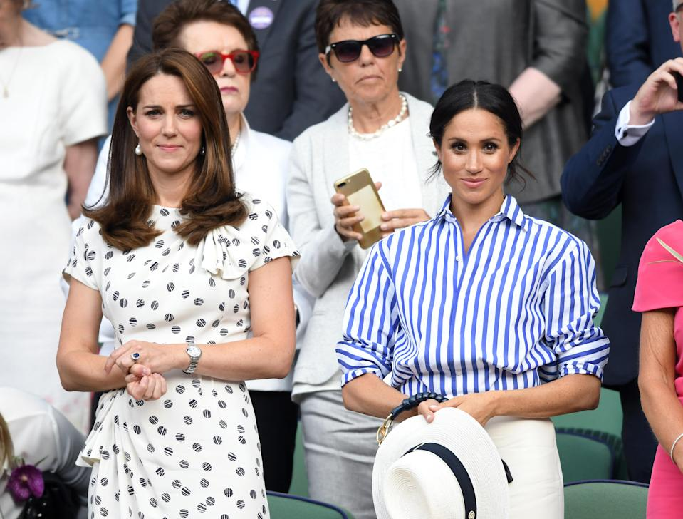 Tension may be due to the fact Kate Middleton and Meghan Markle supposedly don't get along. Source: Getty