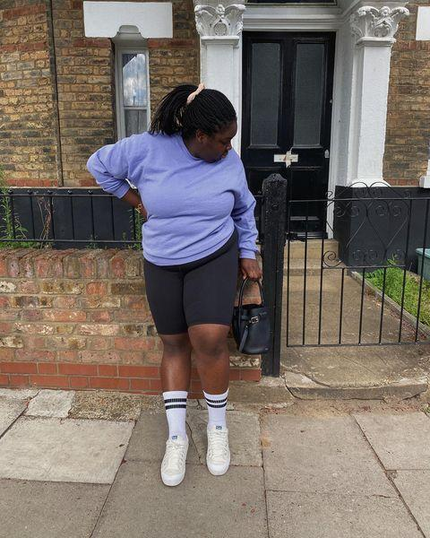 """<p>At this point, why don't you have a pair of cycling shorts? Super comfy and flattering, they are a great layering staple - but make sure they're good quality to avoid pilling and transparency.</p><p><a class=""""link rapid-noclick-resp"""" href=""""https://go.redirectingat.com?id=127X1599956&url=https%3A%2F%2Fwww.net-a-porter.com%2Fen-gb%2Fshop%2Fproduct%2Fthe-row%2Fmosah-stretch-shorts%2F1312816&sref=https%3A%2F%2Fwww.elle.com%2Fuk%2Ffashion%2Fg29844296%2Fcasual-clothes%2F"""" rel=""""nofollow noopener"""" target=""""_blank"""" data-ylk=""""slk:SHOP NOW"""">SHOP NOW</a></p><p><a href=""""https://www.instagram.com/p/CDqjgPkgxKB/"""" rel=""""nofollow noopener"""" target=""""_blank"""" data-ylk=""""slk:See the original post on Instagram"""" class=""""link rapid-noclick-resp"""">See the original post on Instagram</a></p>"""