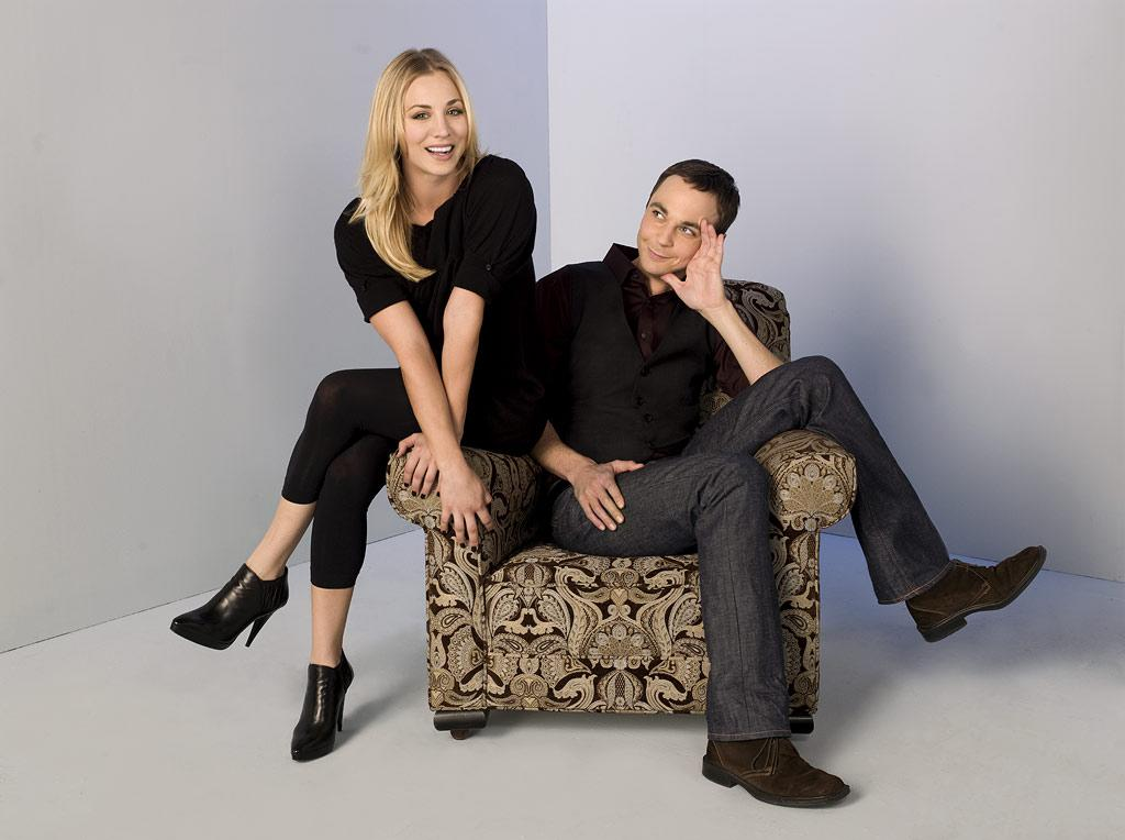 "Kaley Cuoco stars as Penny and Jim Parsons stars as Sheldon on ""The Big Bang Theory."""