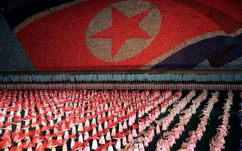 North Korea is bringing back one of its most iconic art forms - mass games - to mark its 70th anniversary on Sunday, September 9, 2018. - Credit:  Wong Maye-E/AP