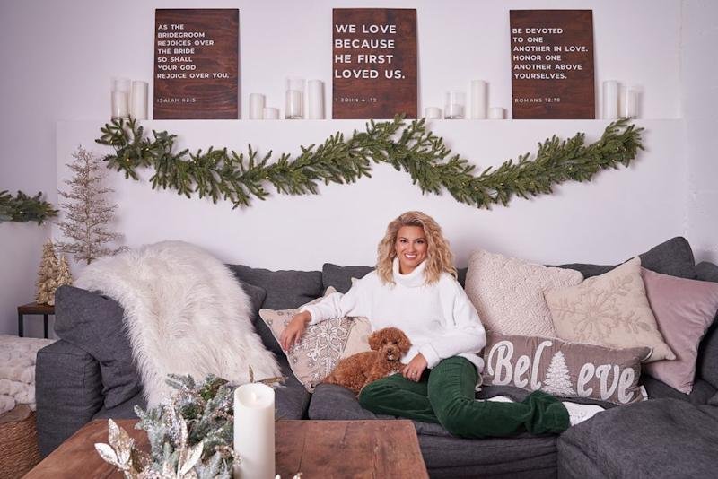 Tori Kelly and her dog, Frodo | Bobby Quillard