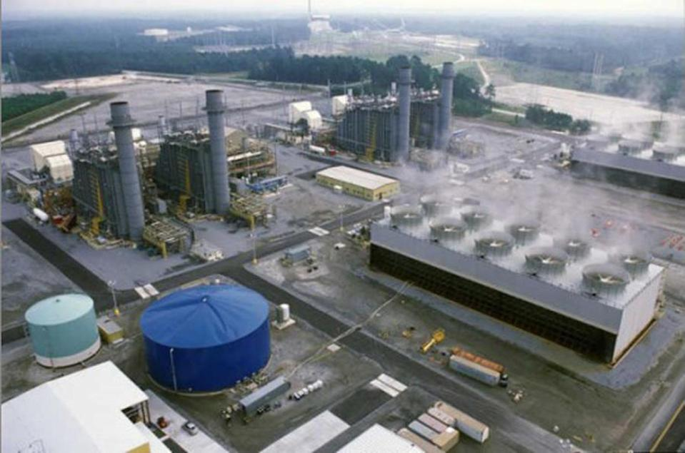 Coal ash pollutants have been detected in groundwater at 11 power plants in Georgia, including Plant McIntosh in Rincon, shown, where arsenic and lithium were detected at triple the safe level.