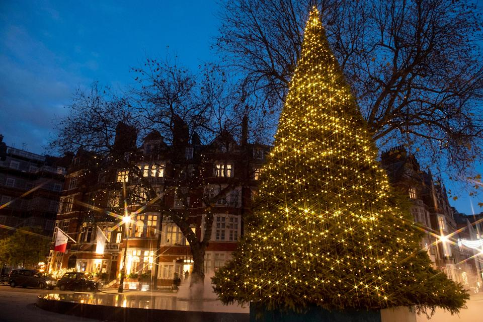 <p>Christmas scenes in London</p>PA