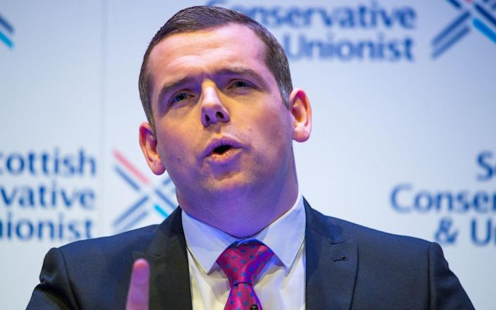 Douglas Ross has raised concerns about fruit being left to rot - Colin D Fisher/PA