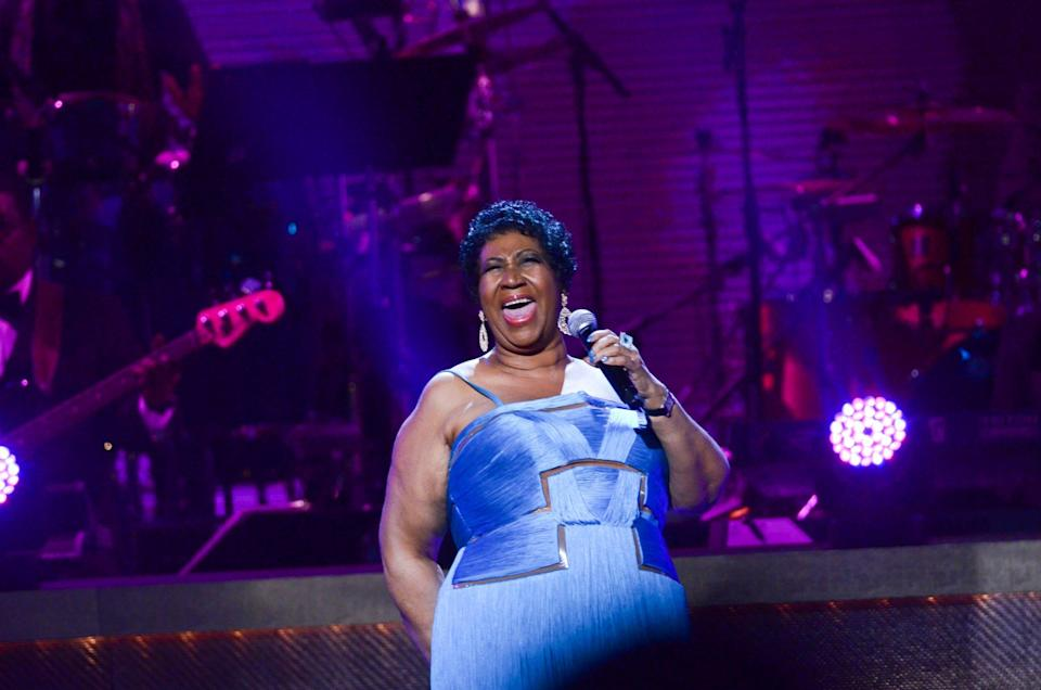 Fuming: Viewers were disgusted by the Aretha Franklin tribute: Getty Images