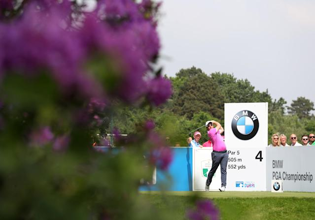 Golf - European Tour - BMW PGA Championship - Wentworth Club, Virginia Water, Britain - May 26, 2018 England's Sam Horsfield during the third round Action Images via Reuters/Peter Cziborra