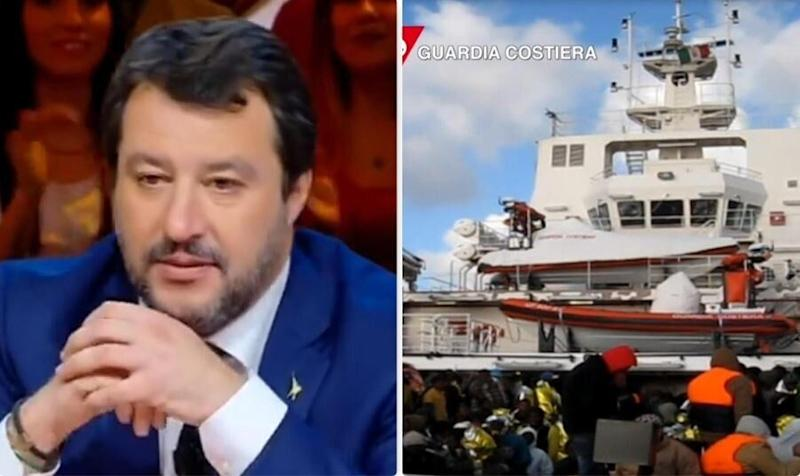 Matteo Salvini - la nave Gregoretti (Photo: )