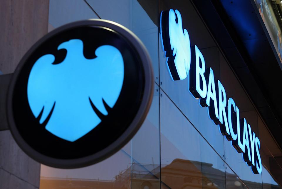 Barclays released £742m from its impairment pot (Dominic Lipinski/PA) (PA Wire)