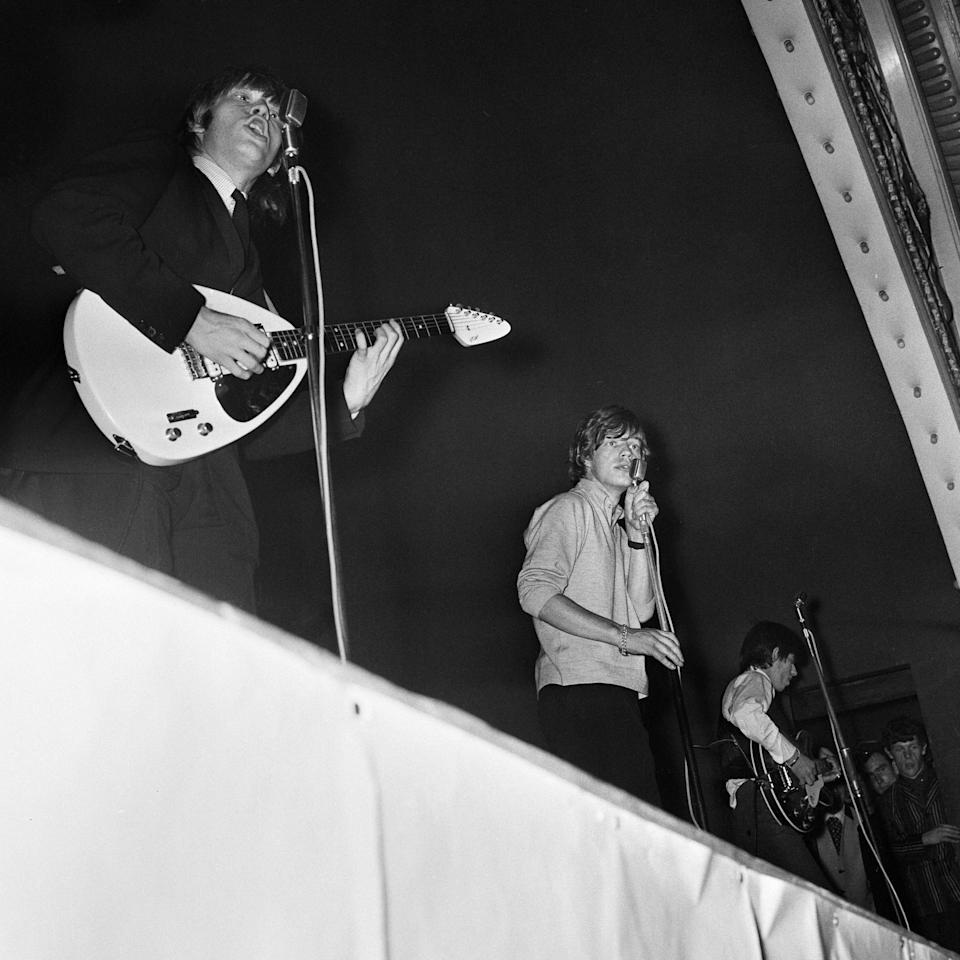 A Rolling Stones gig at the Tower Ballroom in 1964 - Getty