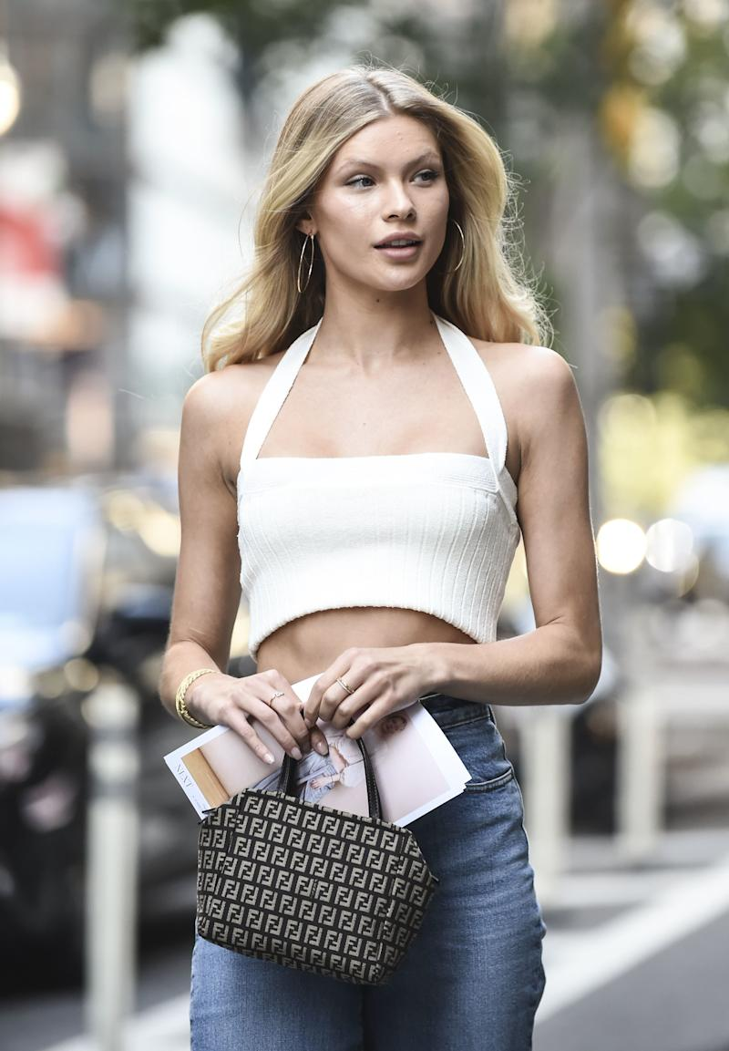 NEW YORK, NY - SEPTEMBER 05: Josie Canseco attends the casting for the 2018 Victoria's Secret Show in Midtown on September 5, 2018 in New York City. (Photo by Daniel Zuchnik/GC Images)
