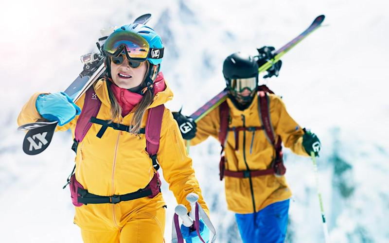 There's a whole range of gear to consider when packing for a ski holiday - ADRIAN MYERS