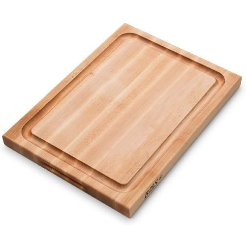 John Boos Maple Wood Edge Grain Reversible Cutting Board with Juice Groove, 20 Inches x 15 Inches x 1.5 Inches. (Photo: Amazon)