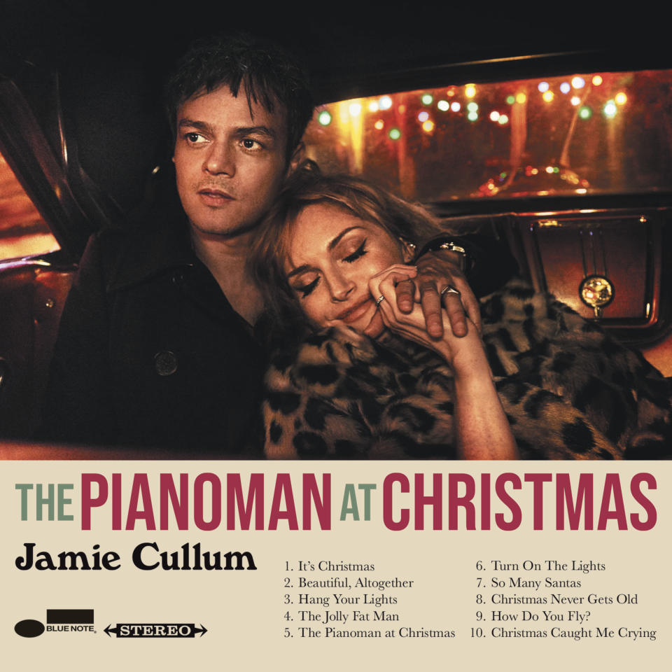 """This cover image released by Blue Note Records shows """"The Pianoman at Christmas"""" by Jamie Cullum. (Blue Note Records via AP)"""