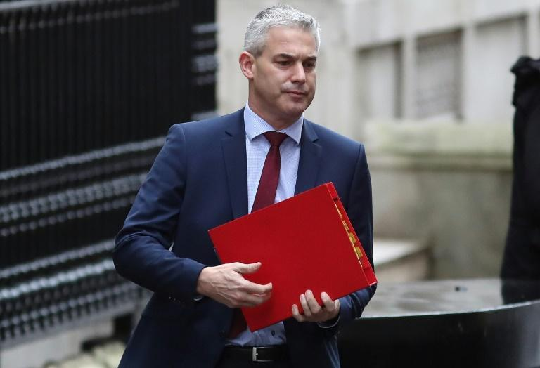Britain's Brexit secretary Stephen Barclay leaves Downing Street in London