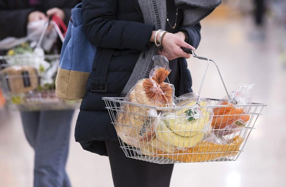 Food prices rose year-on-year for the first time in six months, up 0.1% in September (PA) (PA Wire)
