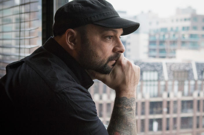 """<span class=""""s1"""">Christian Picciolini, founder of Life After Hate. (Photo: Teresa Crawford/AP)</span>"""