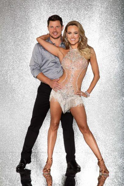 PHOTO: Nick Lachey and pro dancer Peta Murgatroyd will compete for the mirror ball title on the new season 'Dancing With The Stars.' (Craig Sjodin/ABC)