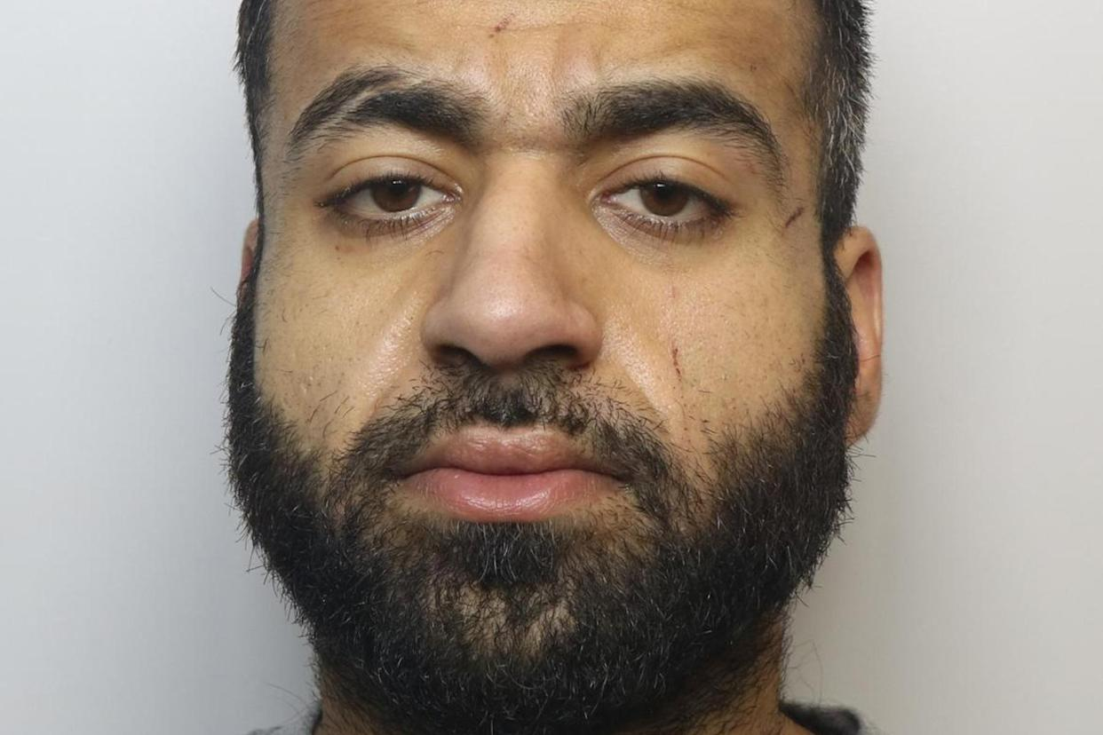 Sohaib Younis, 27, pulled out his ex-girlfriends teeth with his hands. (SWNS)