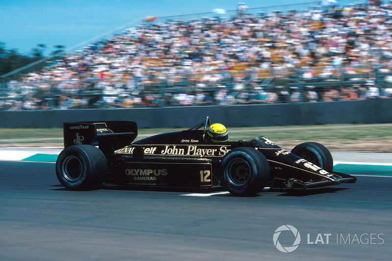 "Ayrton Senna, Lotus 97T<span class=""copyright"">Sutton Motorsport Images</span>"