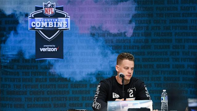 This is Joe Burrow, not Tom Brady. (Photo by Zach Bolinger/Icon Sportswire via Getty Images)