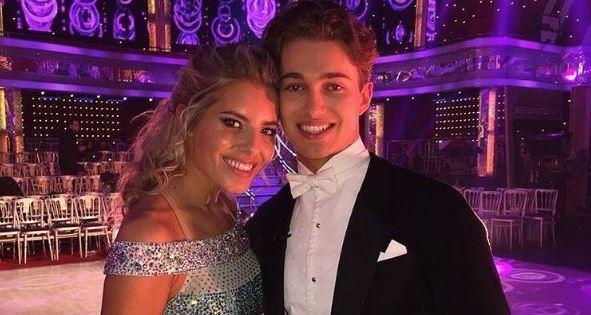 Romance: Cole 'confirmed' that sparks flew whilst the pair were on the show: @MollieKing Instagram