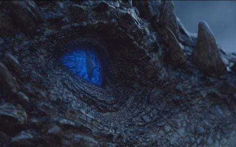 Viserion Game of Thrones The Night King - Credit: HBO