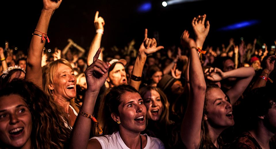 Byron Bay's Bluesfest has been cancelled due to Covid-19 concerns for the second year in a row. Source: AAP