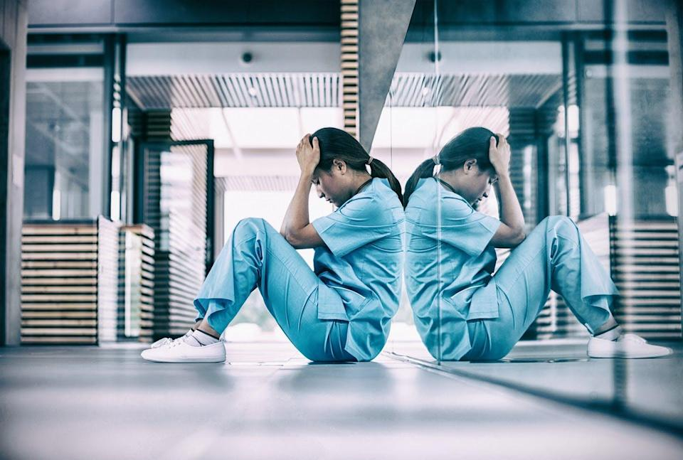"""<span class=""""caption"""">Health-care professions like nursing are at risk of experiencing a post-pandemic exodus of workers due to burnout and moral distress.</span> <span class=""""attribution""""><span class=""""source"""">(Shutterstock)</span></span>"""