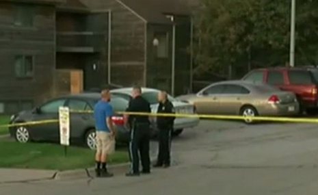 The girl's mother tried to revive the child at the scene. Photo: KMTV Local News