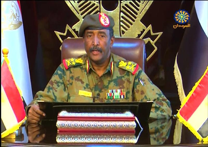 General Abdel Fattah al-Burhan heads the military council that took power after the ouster of president Omar al-Bashir following months of protests