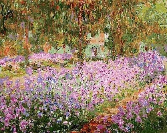 """<br><br><strong>MyPaintByNumbers</strong> Paint by Number Kit, Irises in Monet's Garden, $, available at <a href=""""https://www.etsy.com/listing/764834692/irises-in-monets-garden-usa-shipping-diy"""" rel=""""nofollow noopener"""" target=""""_blank"""" data-ylk=""""slk:Etsy"""" class=""""link rapid-noclick-resp"""">Etsy</a>"""
