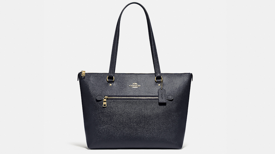 Carry it all with the Coach Gallery tote.