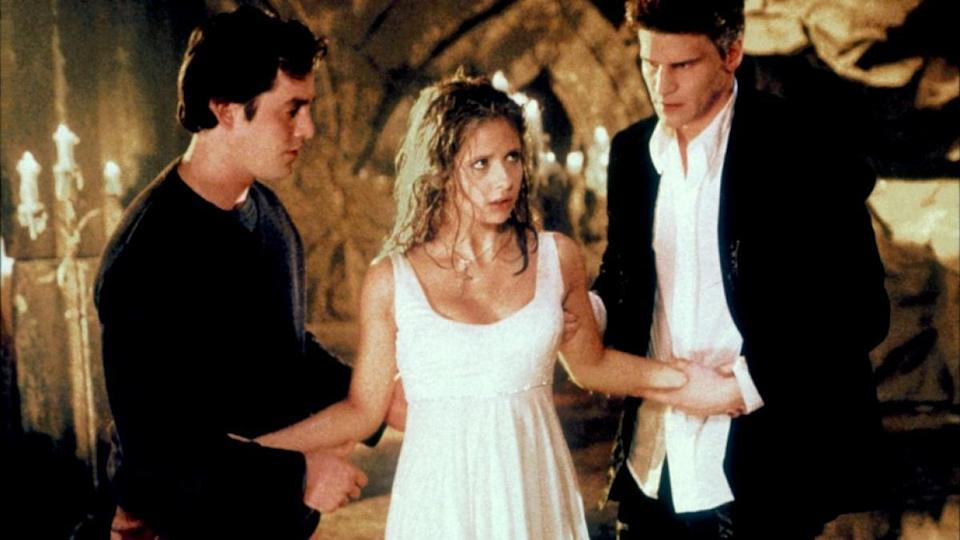 <p> When his 1992 movie about a cheerleading vampire slayer flopped, writer Joss Whedon couldn&#x2019;t let Buffy languish in pop culture history in its campy coffin. So he did what any genre-loving creator would do! He revived it, and spawned one of the most successful female-led fantasy shows of all time, with Sarah Michelle Gellar taking over as the vamp-stabbin&#x2019;, monster-huntin&#x2019; heroine. Not only is Buffy tasked with saving the world from the apocalypse (multiple times) and preventing several baddies from destroying her hometown of Sunnydale, she also grapples with typical teen angst.&#xA0; </p> <p> While the &#x201C;monster of the week&#x201D; format stakes its claim in earlier seasons, Buffy&#x2019;s complex life and those of her best friends, Xander and Willow, extend beyond that into rich, layered storytelling that is brilliant serial television. Without a doubt a genre staple, Buffy the Vampire Slayer is a must-see for anyone with a love of good vs. tales that give the middle finger to convention. </p>