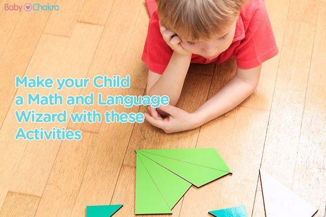 How to Develop Your Child's Brain: 20 Months - Language, Math And Art