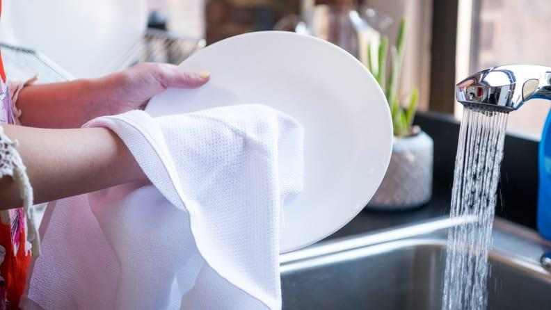 You can never have too many dish towels.