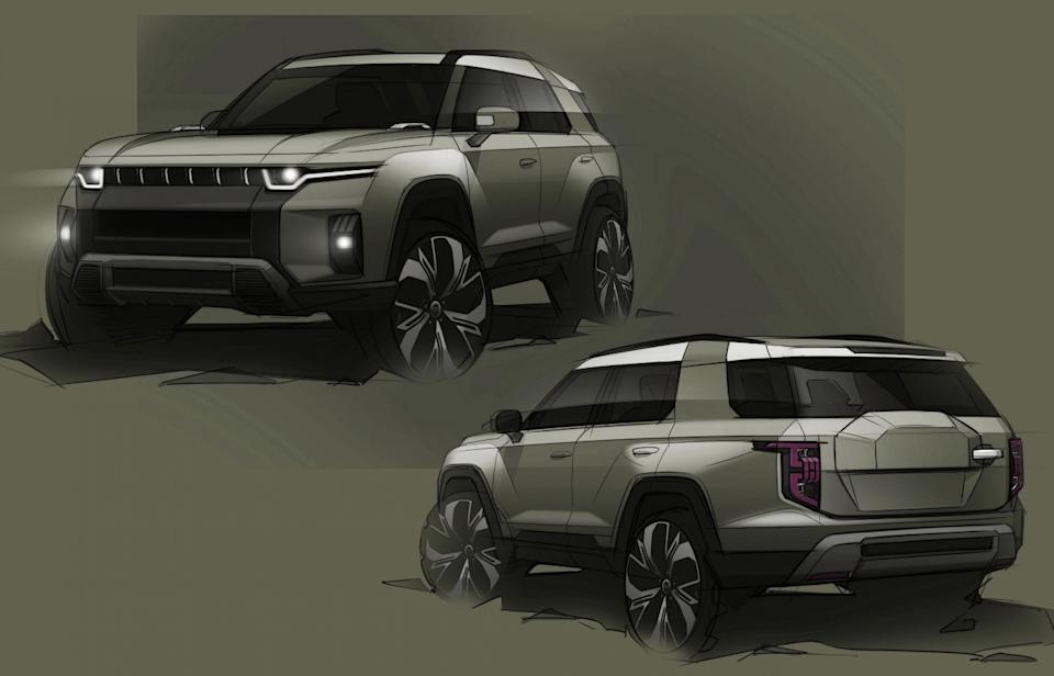 A new electric SsangYong SUV – codenamed J100 – is set to enter production in 2022