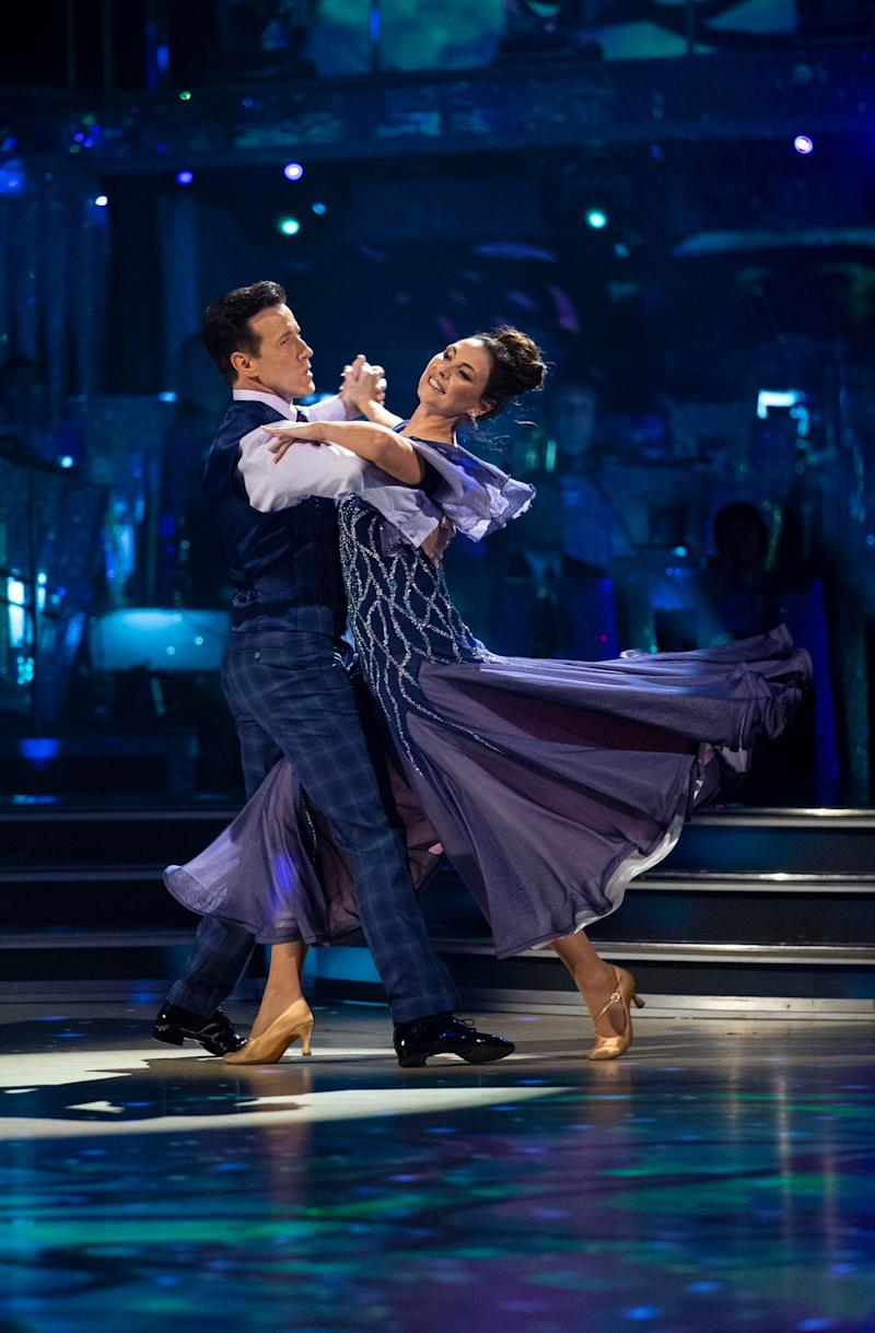 Hopeful: Du Beke and Barton will vie for the glitterball (BBC/Guy Levy)
