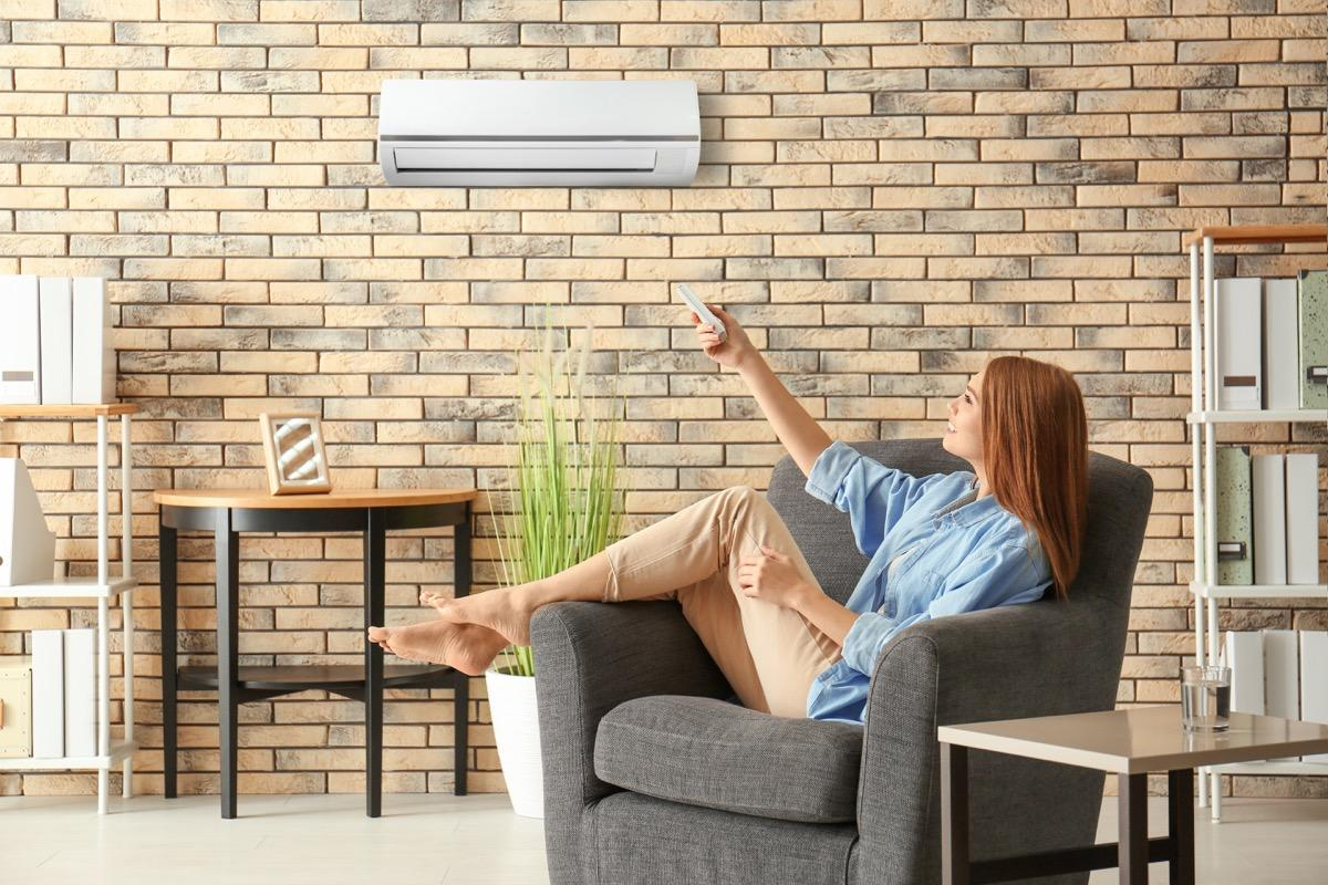 "Having <a href=""https://bestlifeonline.com/cool-without-central-air/?utm_source=yahoo-news&utm_medium=feed&utm_campaign=yahoo-feed"" target=""_blank"">air conditioning</a> in every room may be a non-negotiable in many climates, but that doesn't mean installing an HVAC system in your home will necessarily earn you a healthy return in the long run. ""While these are incredible options for a homeowner—helping them control their heating and cooling needs and, hopefully, cut down on utility bills—these upgrades do not translate to an increased sale price for the home,"" explains King. She says most sellers will never recoup the cost of having the system installed in the first place."