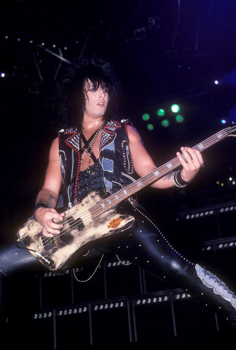 "<p>The Mötley Crüe bassist and songwriter overdosed on heroine in 1987 and had an out of body experience. He wrote in <em><a href=""https://www.amazon.com/Dirt-Confessions-Worlds-Most-Notorious/dp/0060989157?tag=syn-yahoo-20&ascsubtag=%5Bartid%7C2141.g.36311064%5Bsrc%7Cyahoo-us"" rel=""nofollow noopener"" target=""_blank"" data-ylk=""slk:The Dirt: Confessions of the World's Most Notorious Rock Band"" class=""link rapid-noclick-resp"">The Dirt: Confessions of the World's Most Notorious Rock Band</a></em>, ""I tried to sit up to figure out what was going on. I thought it would be hard to lift my body. But to my surprise, I shot upright, as if I weighed nothing. Then it felt as if something very gentle was grabbing my head and pulling me upward. Above me, everything was bright white. I looked down and realized I had left my body. Nikki Sixx—or the filthy, tattooed container that had once held him—was lying covered face-to-toe with a sheet on a gurney being pushed by medics into an ambulance.""</p>"