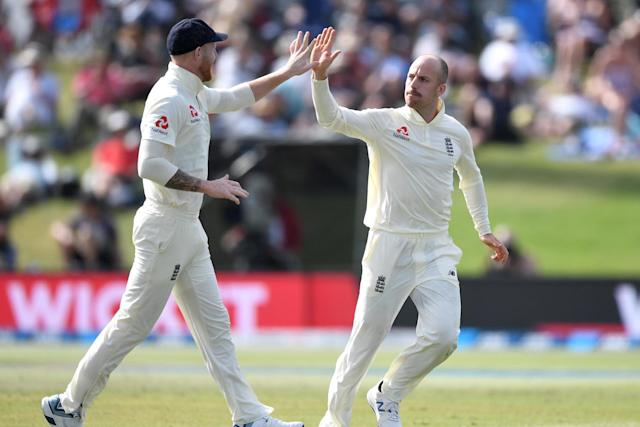 Leach has not bowled since the first Test against New Zealand in November (Getty Images)