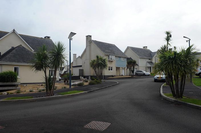 The neighbourhood where Williams lives, named for golfer Jack Nicklaus. (Wales News)