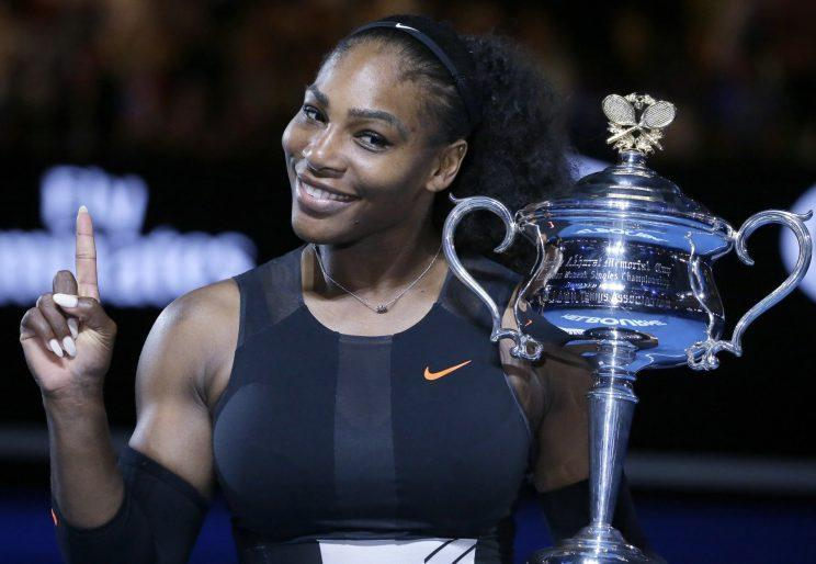 Serena Williams won her 23rd Grand Slam title by winning the Australian Open. (AP)