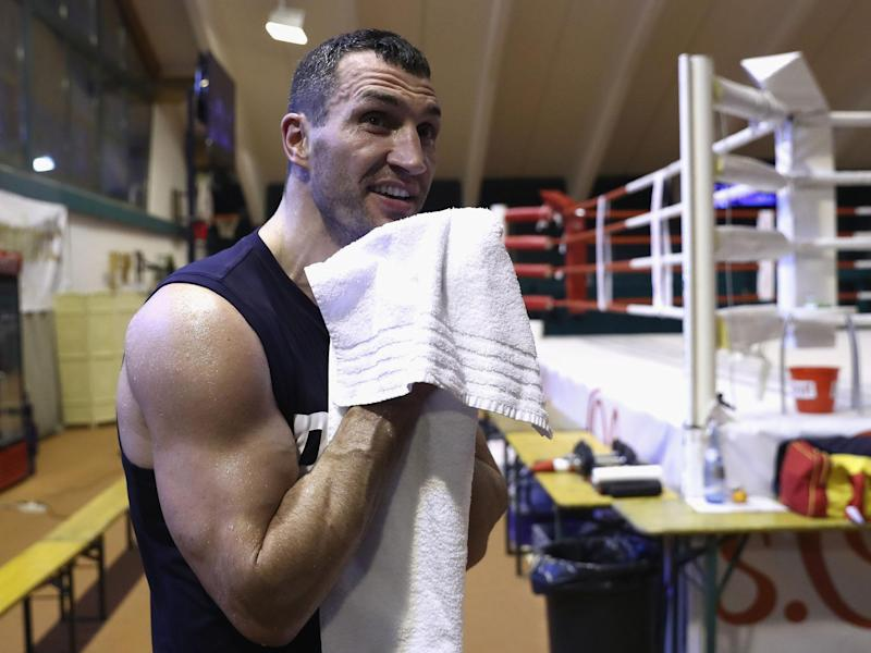 Wladimir Klitschko fights Anthony Joshua later this month: Getty