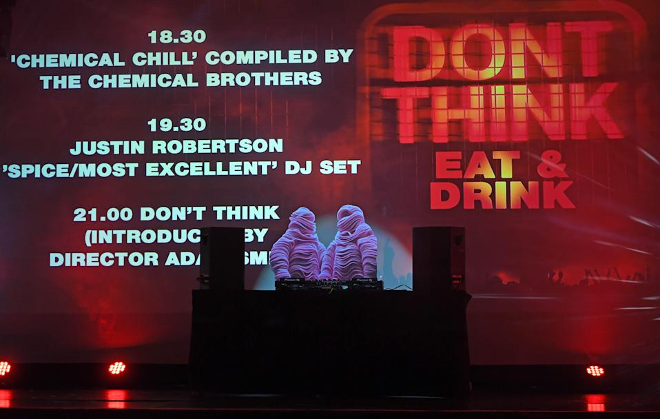 When the music's over: The Chemical Brothers are urging the government to fix British music's post-Brexit touring crisis (Getty Images)