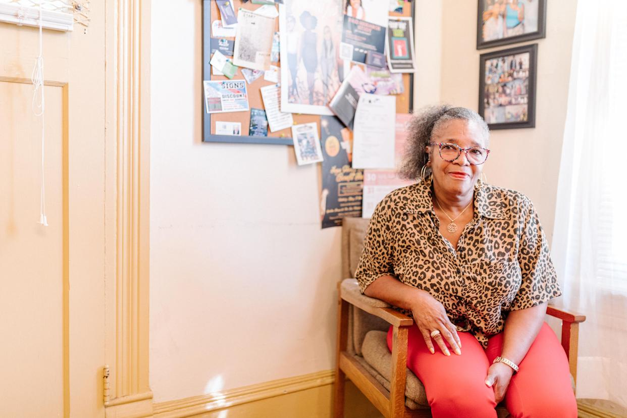 Women on the Rise founder Marilynn Winn. (Photo: Lynsey Weatherspoon for Yahoo News)